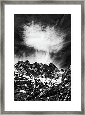 Volcanic Framed Print