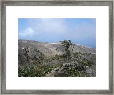 Volcanic Landscape Tenerife - Teno Alto 1 Framed Print