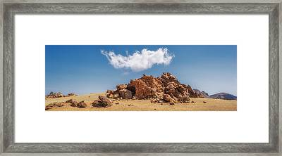 Volcanic Rocks Framed Print
