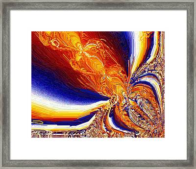 Volcanicity Framed Print