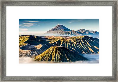 Volcano Galore Framed Print by Philipp Weindich