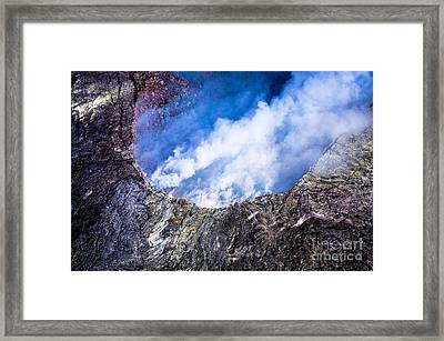 Framed Print featuring the photograph Volcano by M G Whittingham
