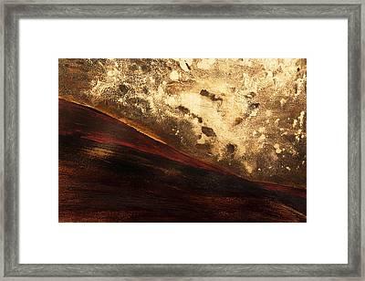 Volcano Sunrise Framed Print by Tara Thelen - Printscapes
