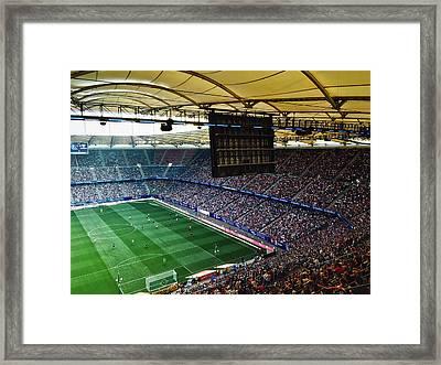 Volksparkstadion Hamburg Framed Print