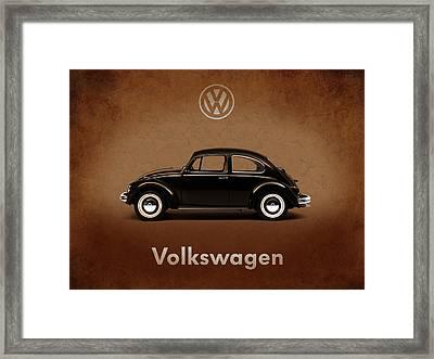 Volkswagen Beetle 1969 Framed Print by Mark Rogan