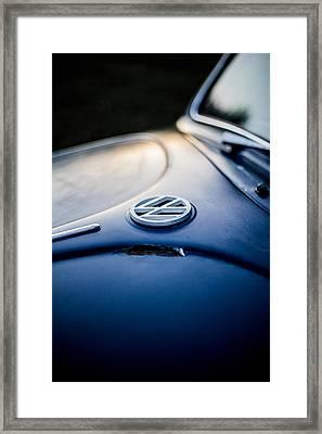 Volkswagen Bug Framed Print by Jake Marvin