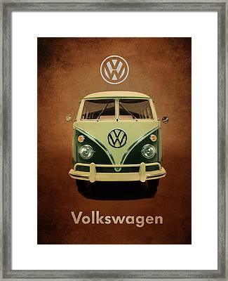 Volkswagen T1 1963 Framed Print by Mark Rogan