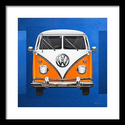 Volkswagen Type 2 Framed Prints