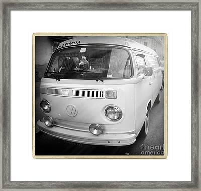 Volkswagen Westfalia Camper Framed Print by Stefano Senise