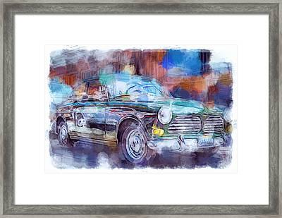 Volvo Car Framed Print by Yury Malkov