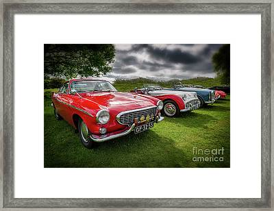 Volvo P1800 Coupe  Framed Print by Adrian Evans