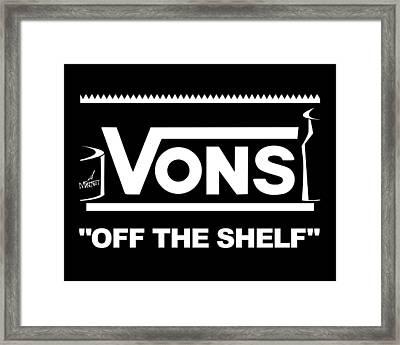 Vons Framed Print