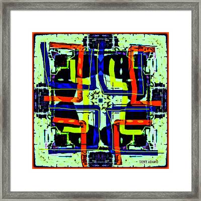 Voodoo Brother Fix Framed Print by Tony Adamo