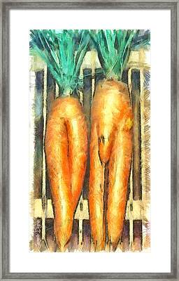 Voodoo Carrots - Pa Framed Print