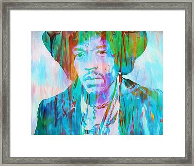 Voodoo Child Framed Print by Dan Sproul