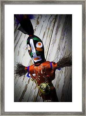 Voodoo Magic Framed Print