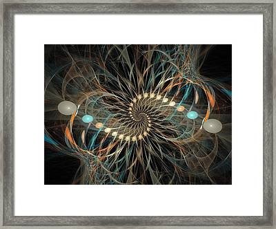 Vortex Framed Print by David April