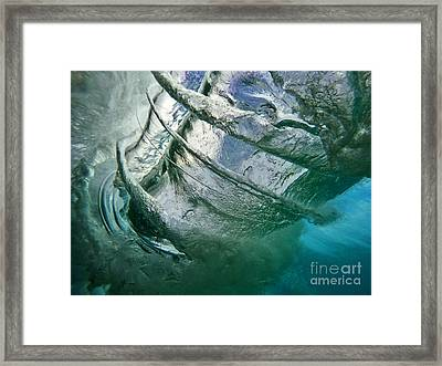 Vortex Framed Print by Justin  Barlahan