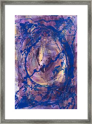 Framed Print featuring the painting Vortex by Mordecai Colodner