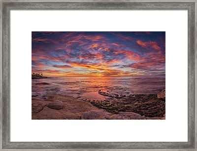 Vortex Framed Print by Peter Tellone