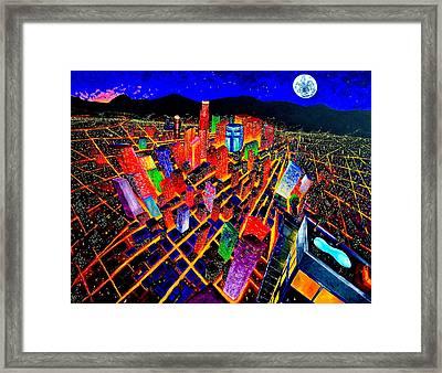 Vorticity I Framed Print by Chris Haugen