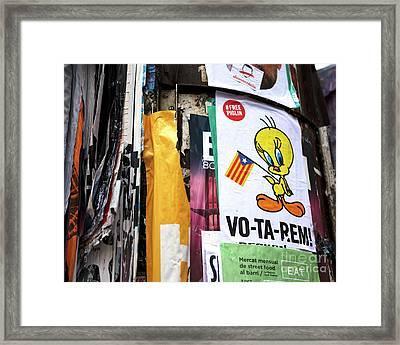 Votarem Framed Print