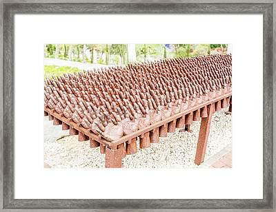 Vote Bare Hand Framed Print