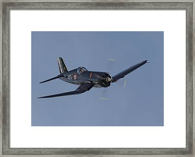 Vought Corsair Framed Print by Pat Speirs