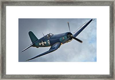 Vought F4u Corsair 2011 Chino Air Show Framed Print