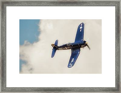 Vought F4u Corsair Framed Print