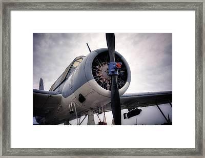 Vought Os2u Kingfisher Framed Print