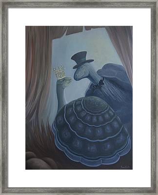 Voulez Vous Danser Avec Moi Ma Tendresse Framed Print