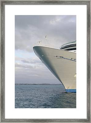Voyage Framed Print by Luke Moore