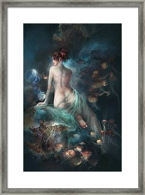 Framed Print featuring the digital art Voyage by Te Hu
