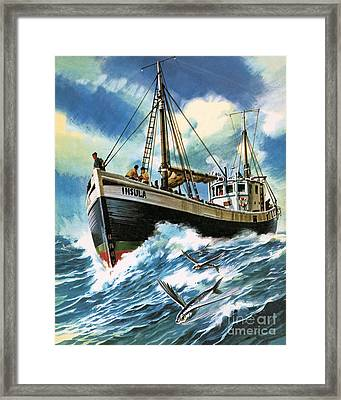 Voyage To The Spanish Main Framed Print