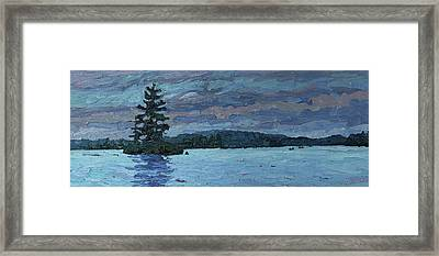 Voyageur Highway Framed Print by Phil Chadwick
