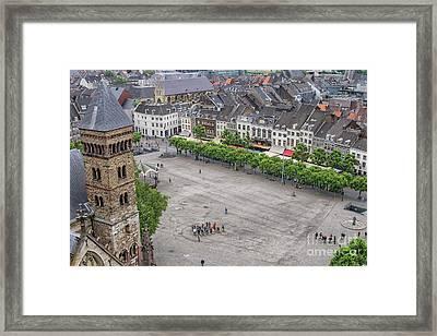 Vrijthof, Maastricht, The Netherlands Framed Print