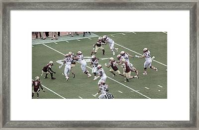 Vt Boston Lane Stadium 2016 1 Framed Print by Betsy Knapp