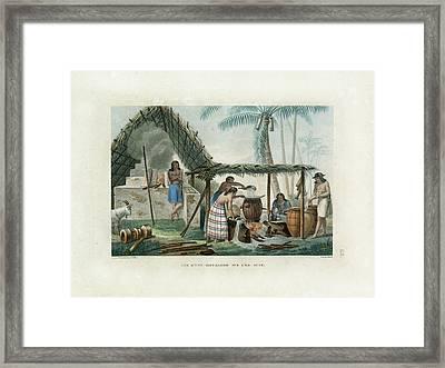 Vue Dune Distillerie Sur L Ile Guam Distillery Scene On Guam Framed Print