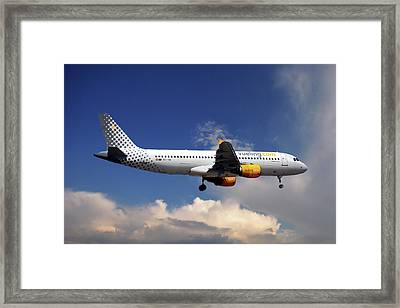 Vueling Airbus A320-214 Framed Print