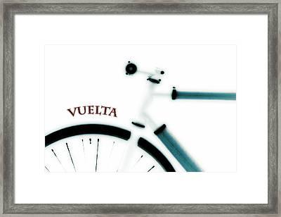 Vuelta Framed Print by Frank Tschakert