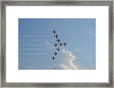 Vulcan Formation Framed Print
