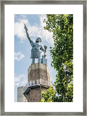 Vulcan On A Sunny Day Framed Print by Parker Cunningham