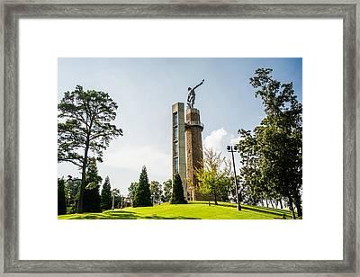 Vulcan Over Birmingham Framed Print by Parker Cunningham