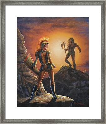 Vulcana  Framed Print