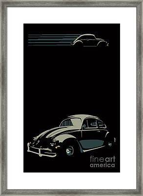 Vw Beatle Framed Print
