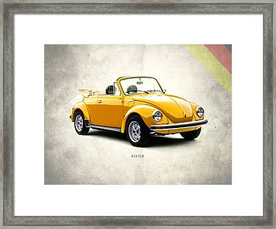 Vw Beetle 1972 Framed Print