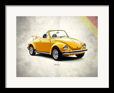 Vw Beetle Photographs Framed Prints