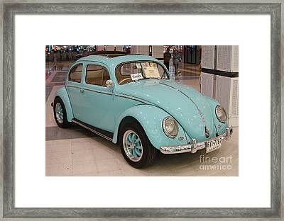 Vw Beetle Framed Print by Mike Holloway