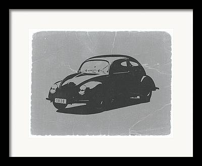 Car Digital Art Framed Prints